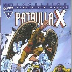 Cómics: BIBLIOTECA MARVEL PATRULLA X 4 NUEVO. Lote 254638230