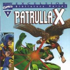 Cómics: BIBLIOTECA MARVEL PATRULLA X 5 NUEVO. Lote 254638330
