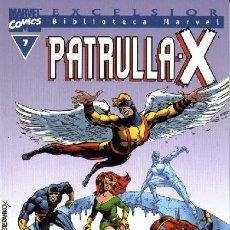Cómics: BIBLIOTECA MARVEL PATRULLA X 7 NUEVO. Lote 254638425