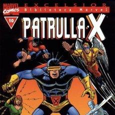 Cómics: BIBLIOTECA MARVEL PATRULLA X 10 NUEVO. Lote 254638575