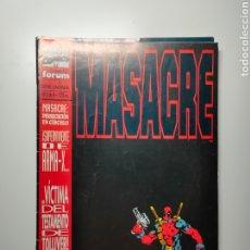 Cómics: MASACRE (DEADPOOL) - PERSECUCIÓN EN CÍRCULO (NICIEZA, MADUREIRA) - SERIE LIMITADA COMPLETA. Lote 254650075