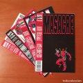 Lote 254743670: MASACRE Cómics Forum EDITORIAL PLANETA-DEAGOSTINI Completa 4 Nº.