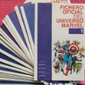 Lote 254747160: FICHERO OFICIAL DEL UNIVERSO MARVEL Completo 39 Nº.