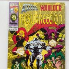 Cómics: RESURRECCIÓN, ESTELA PLATEADA Y WARLOCK - COMPLETA 4 NÚMEROS. Lote 254753425