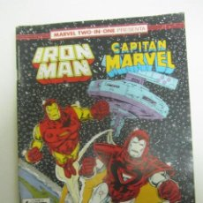 Cómics: MARVEL TWO IN ONE IRON MAN - CAPITÁN MARVEL Nº 53 DE FORUM ARX90. Lote 254787765