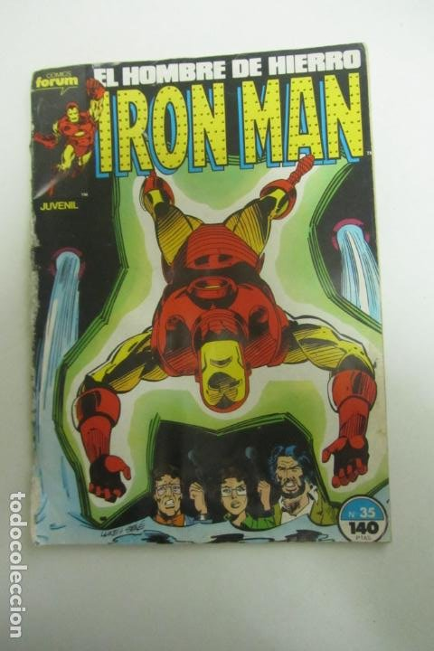 IRON MAN VOL. 1 Nº 35 FORUM ARX90 (Tebeos y Comics - Forum - Iron Man)