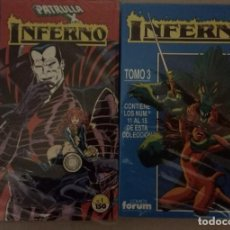 Comics : INFERNO COMPLETA 20 NUMEROS (10 SUELTOS Y 10 EN 2 RETAPADOS). Lote 254799740