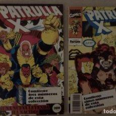 Comics: 2 RETAPADOS LA PATRULLA-X CONTIENEN 97 A 99 Y 101 A 105 (FORUM). Lote 254800615