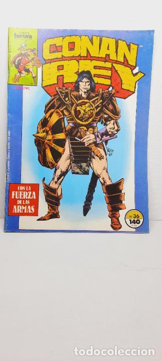 CONAN REY Nº 36.- COMICS FORUM (Tebeos y Comics - Forum - Conan)