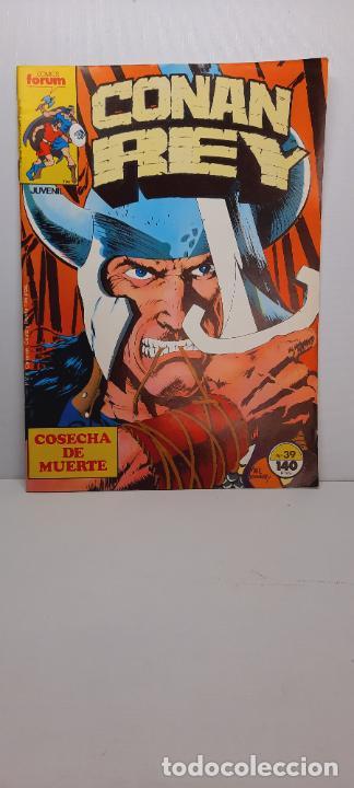 CONAN REY Nº 39.- COMICS FORUM (Tebeos y Comics - Forum - Conan)