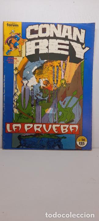 CONAN REY Nº 26.- COMICS FORUM (Tebeos y Comics - Forum - Conan)
