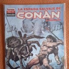 Cómics: LA ESPADA SALVAJE DE CONAN EL BARBARO 11 EDICIÓN COLECCIONISTAS. Lote 254934565