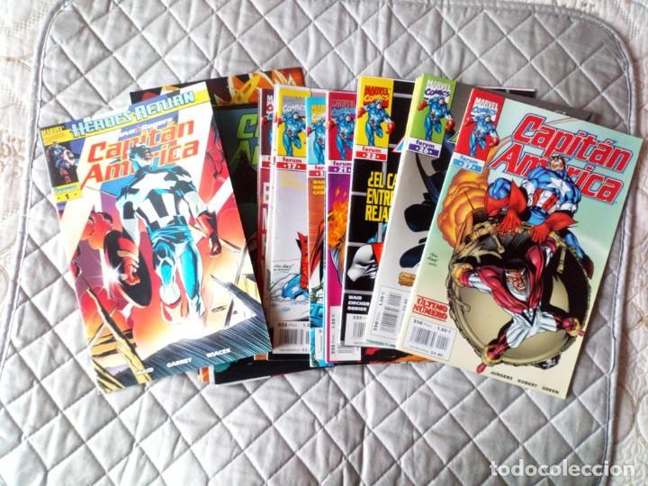 CAPITÁN AMÉRICA VOL.III LOTE NÚMEROS 1 AL 18 FORUM (Tebeos y Comics - Forum - Capitán América)