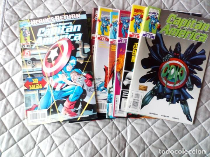 Cómics: Capitán América Vol.III LOTE Números 1 al 18 FORUM - Foto 2 - 254978420