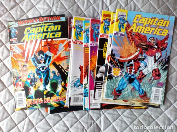 Cómics: Capitán América Vol.III LOTE Números 1 al 18 FORUM - Foto 3 - 254978420