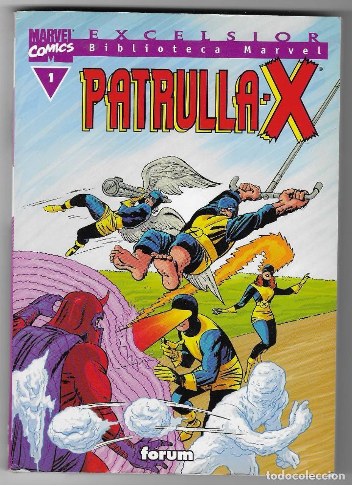 BIBLIOTECA MARVEL -- PATRULLA X -- Nº 1 (Tebeos y Comics - Forum - Patrulla X)
