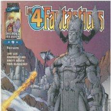 Cómics: 4 FANTASTICOS. HEROES REBORN Nº 9. FORUM. C-76.. Lote 255321000