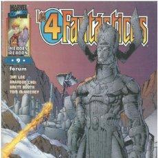 Cómics: 4 FANTASTICOS. HEROES REBORN Nº 9. FORUM. C-76.. Lote 255321050