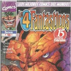 Cómics: 4 FANTASTICOS. HEROES REBORN Nº 10. FORUM. C-76.. Lote 255321125