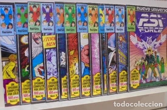 PSI FORCE: NUEVO UNIVERSO (OBRA COMPLETA 12 NÚMEROS) - FORUM (Tebeos y Comics - Forum - Patrulla X)