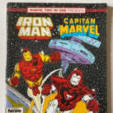 Cómics: IRON MAN CAPITÁN MARVEL #53 VOL1 FORUM. Lote 255347830