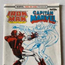 Cómics: IRON MAN CAPITÁN MARVEL #55 VOL1 FORUM. Lote 255348030