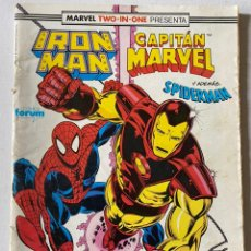 Cómics: IRON MAN CAPITÁN MARVEL #58 VOL1 FORUM. Lote 255348225