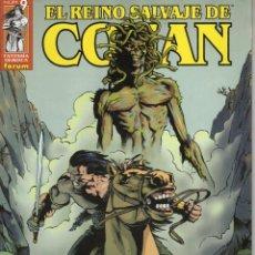 Cómics: EL REINO SALVAJE DE CONAN Nº 9 - FORUM - BUEN ESTADO. Lote 255395685