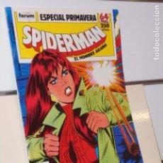 Cómics: SPIDERMAN EL HOMBRE ARAÑA ESPECIAL PRIMAVERA 1989 MARVEL - FORUM. Lote 255433200