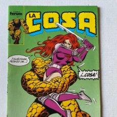 """Comics: LA COSA #14 FÓRUM """"NUEVO DE KIOSKO"""". Lote 255435465"""