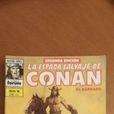 Cómics: LA ESPADA SALVAJE DE CONAN 16. Lote 255436130