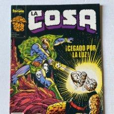 "Cómics: LA COSA #12 FÓRUM ""NUEVO DE KIOSKO"". Lote 255436815"