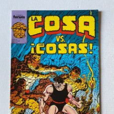 "Cómics: LA COSA #11 FÓRUM ""NUEVO DE KIOSKO"". Lote 255438325"