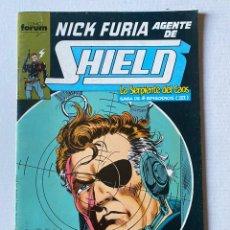 Cómics: NICK FURIA AGENTE DE SHIELD #9 FÓRUM. Lote 255450060