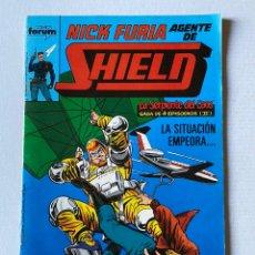 Cómics: NICK FURIA AGENTE DE SHIELD #8 FÓRUM. Lote 255450235
