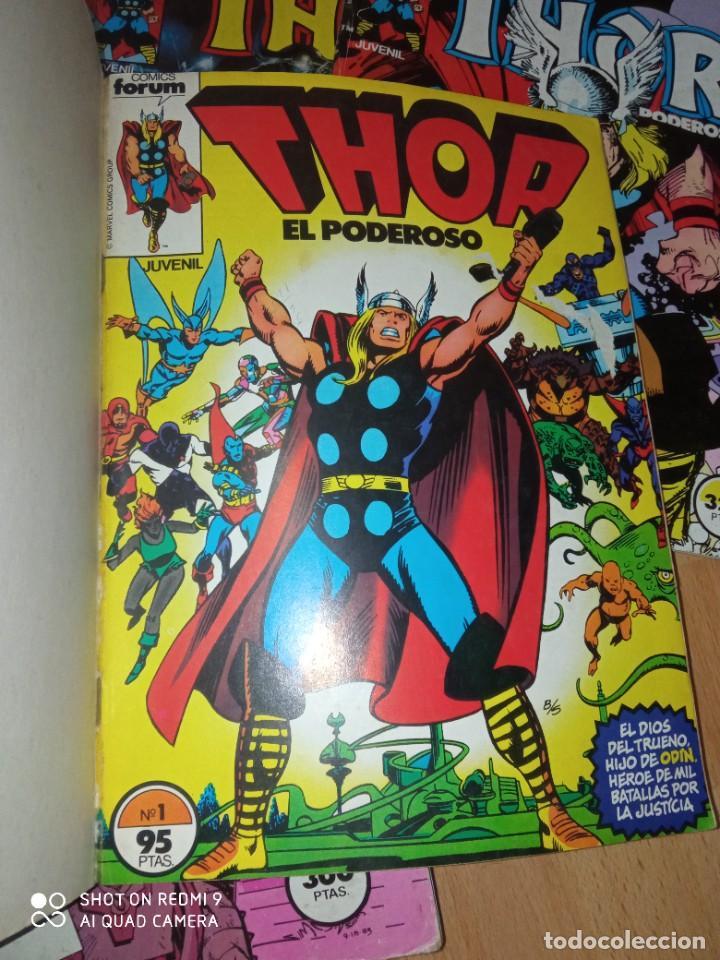 Cómics: Lote retapados Thor 1 edición Fórum - Foto 2 - 255485860