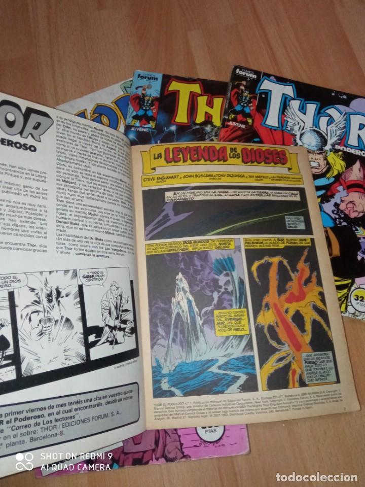 Cómics: Lote retapados Thor 1 edición Fórum - Foto 3 - 255485860
