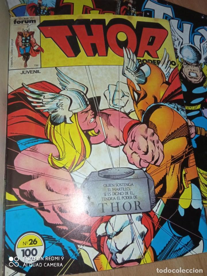 Cómics: Lote retapados Thor 1 edición Fórum - Foto 4 - 255485860