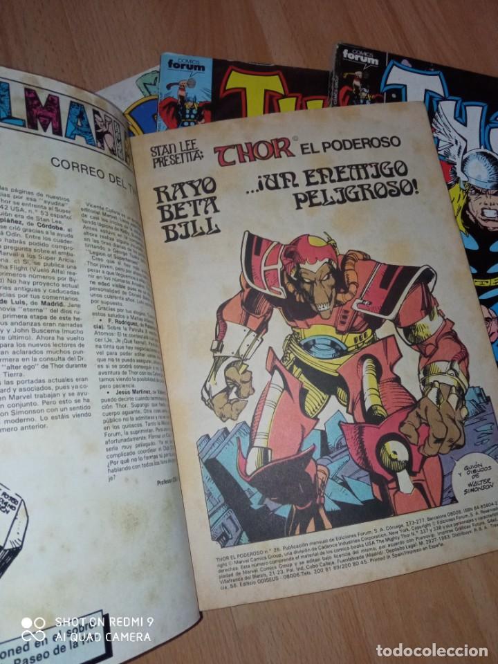 Cómics: Lote retapados Thor 1 edición Fórum - Foto 5 - 255485860