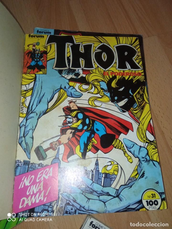 Cómics: Lote retapados Thor 1 edición Fórum - Foto 6 - 255485860
