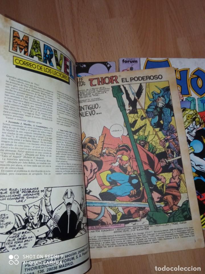 Cómics: Lote retapados Thor 1 edición Fórum - Foto 7 - 255485860