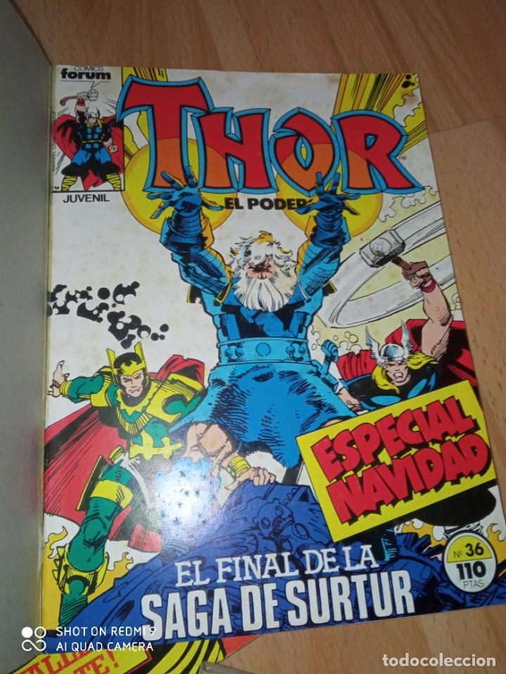 Cómics: Lote retapados Thor 1 edición Fórum - Foto 9 - 255485860