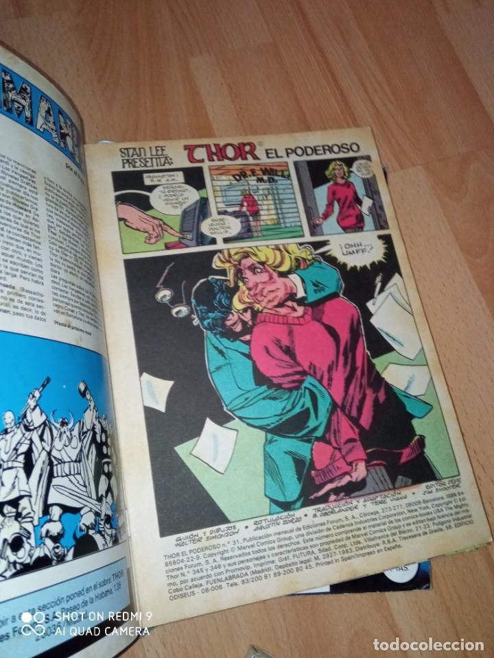 Cómics: Lote retapados Thor 1 edición Fórum - Foto 10 - 255485860