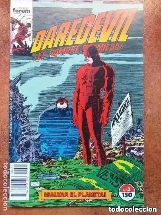 DAREDEVIL. NUM 3. SALVAR EL PLANETA. FORUM (Tebeos y Comics - Forum - Daredevil)