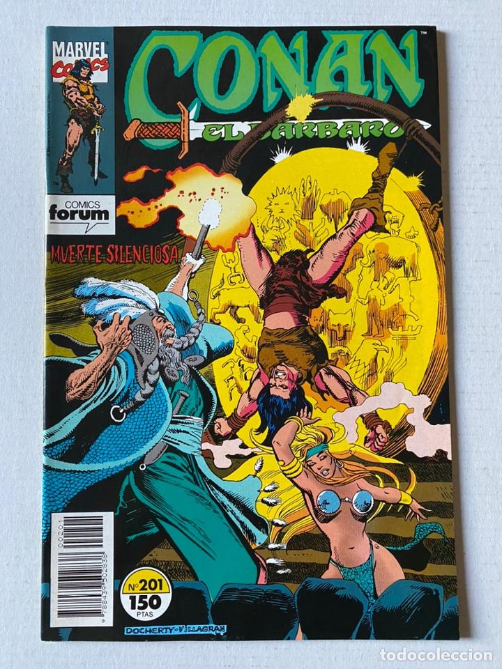 CONAN EL BÁRBARO VOL1 #201 FÒRUM DE KIOSKO (Tebeos y Comics - Forum - Conan)