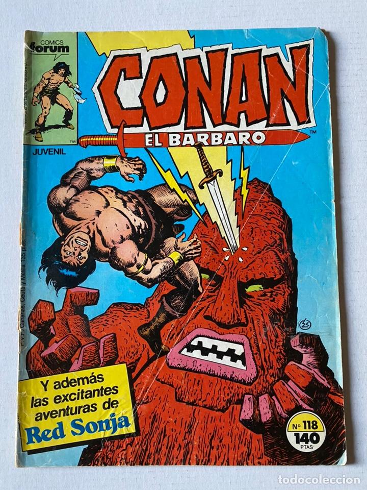CONAN EL BÁRBARO VOL1 #118 FÒRUM (Tebeos y Comics - Forum - Conan)