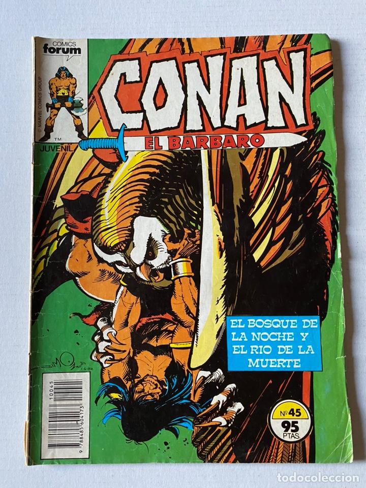 CONAN EL BÁRBARO VOL1 #45 FÒRUM (Tebeos y Comics - Forum - Conan)