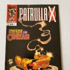 Cómics: PATRULLA X #59 VOL2 FÓRUM EN MUY BUEN ESTADO. Lote 255966865