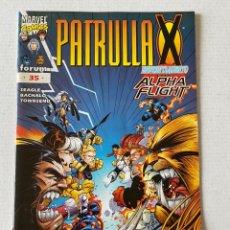 Cómics: PATRULLA X #35 VOL2 FÓRUM EN BUEN ESTADO. Lote 255968190