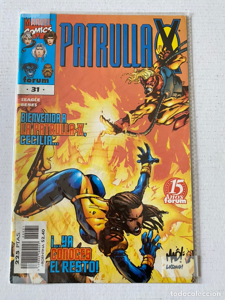 PATRULLA X #31 VOL2 FÓRUM EN MUY BUEN ESTADO (Tebeos y Comics - Forum - Patrulla X)
